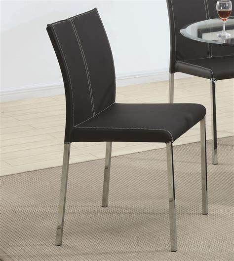 dining coaster los feliz black metal chair coaster fine coaster ophelia 103732 black metal dining chair in los