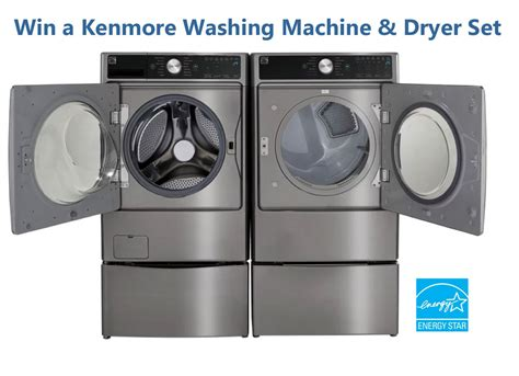 Laundry Pair A Day Giveaway by Enter Bob Vila S Kenmore Washer And Dryer Set Giveaway