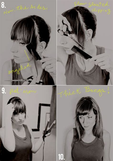 how to cut your own bangs over 40 40 best short wavy haircuts images on pinterest