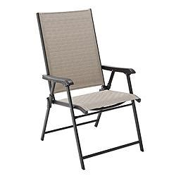 Folding Lawn Chairs Canada canadian tire parsons collection sling folding patio chair customer reviews product reviews