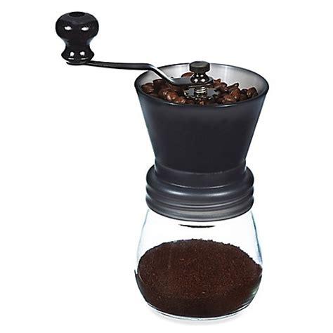 Coffee Grinder grosche 3 5 oz bremen burr coffee grinder bed bath beyond