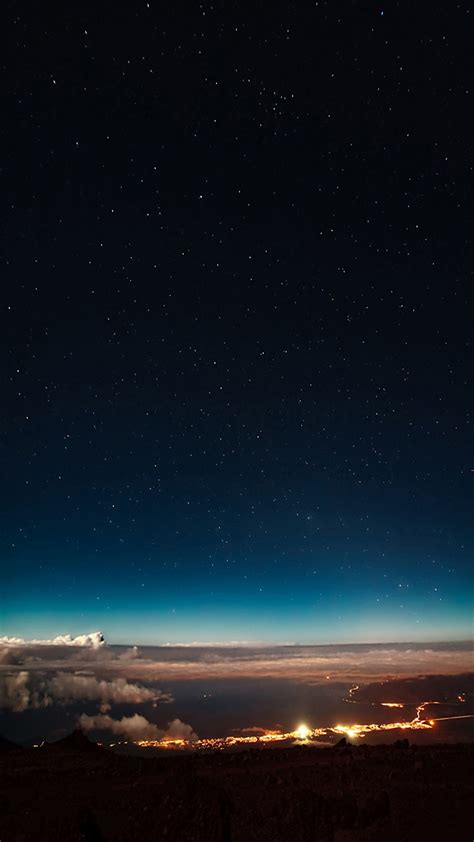 night sky star iphone  wallpapers hd