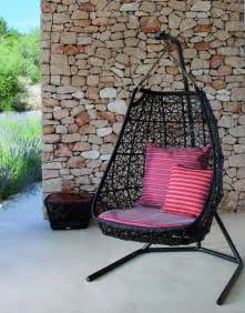 Rattan Hanging Egg Chair Hanging Swing Chair Patio Rattan Swing Chair By Patricia