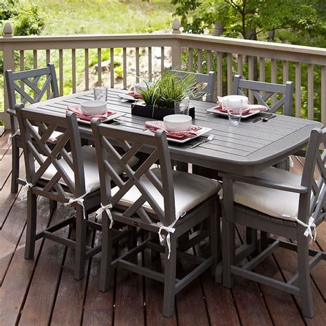 picnic table dining room sets 10 best polywood tables images on pinterest picnic
