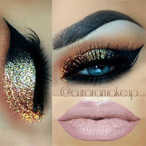 brillantina para ojos maquillaje con glitter para el d 237 a maquillaje con glitter makeup pinterest maquillaje
