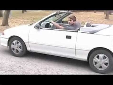 geo metro convertible lsi commercial youtube