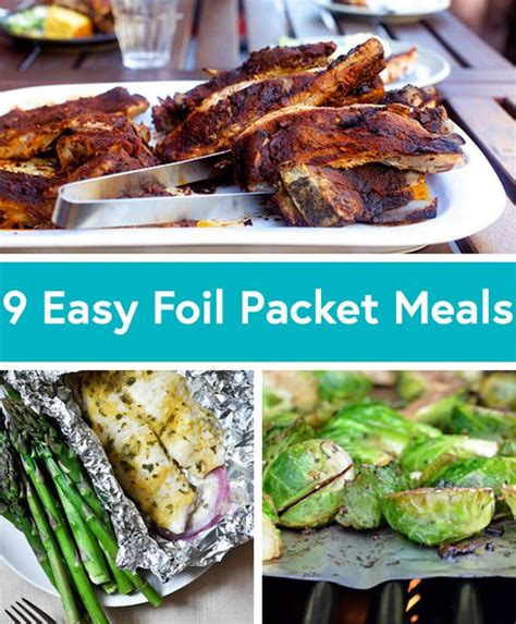 foil packet recipes foil packets and easy summer dinners