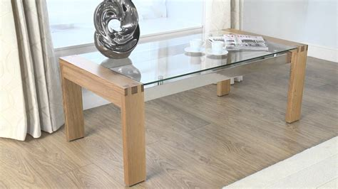 coffee table phenomenal glass and wood coffee table ideas