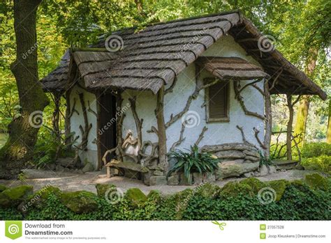 Small House Minecraft unique garden house royalty free stock photos image
