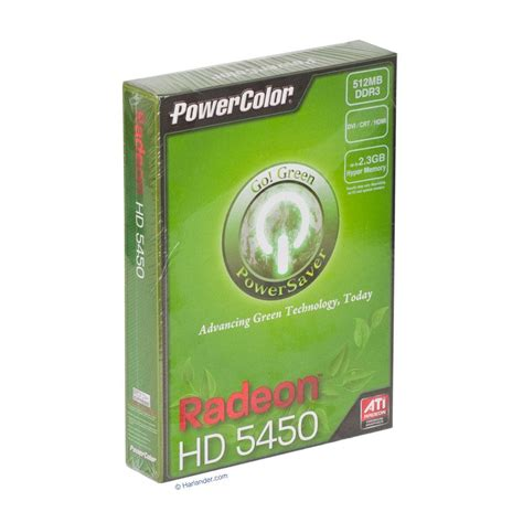 power color powercolor radeon hd 5450 512mb 2560x1600 10024518