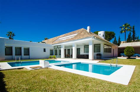Term House Rentals by House For Rent Banus 5 Beds Marbellahome