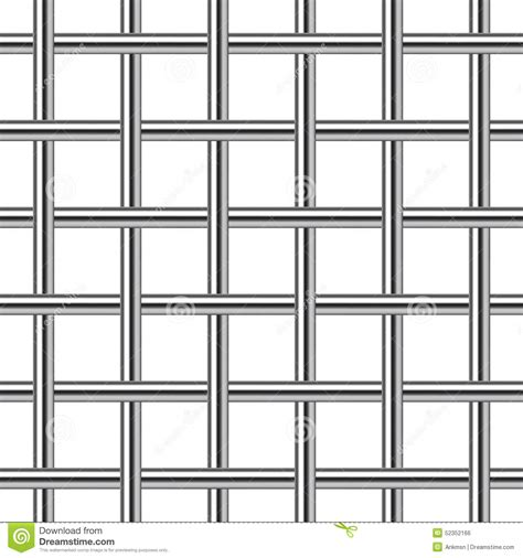 grid layout chrome chrome metal grid seamless background stock vector image