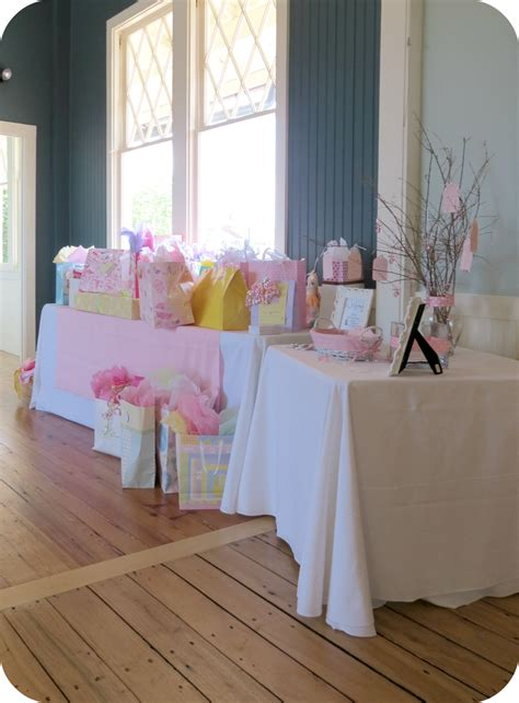 and table shower beginnings baby shower