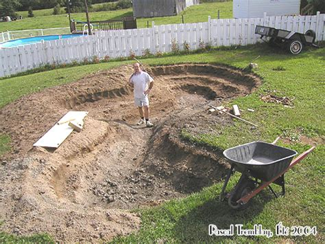 backyard pond builders water garden or backyard pond pond building instructions