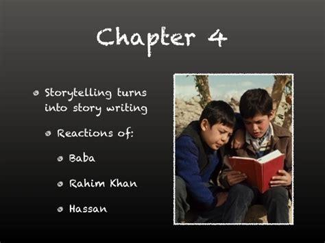 kite runner chapter 17 themes the kite runner chapter 1 5