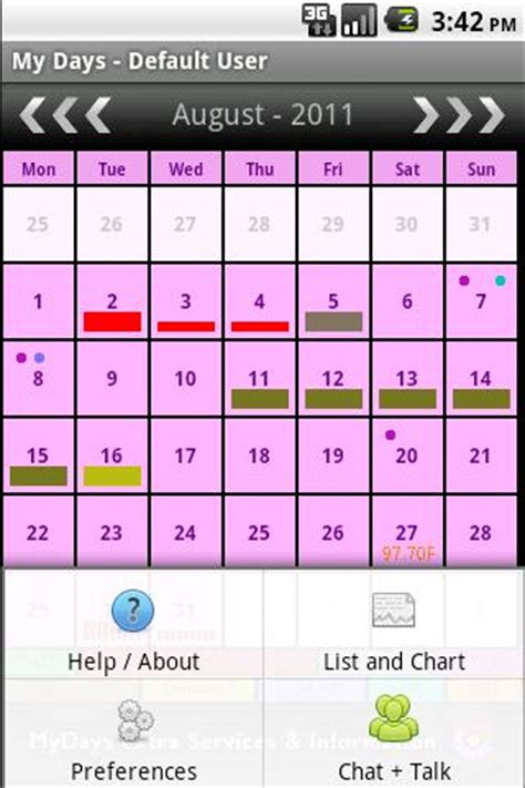 my days period & ovulation ™ android apps on google play