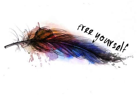watercolor tattoo quill feather quill it s so me tatting