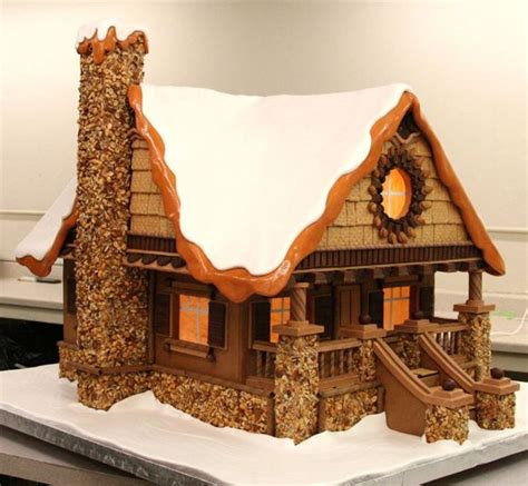 gingerbread log cabin template the 25 best gingerbread houses ideas on