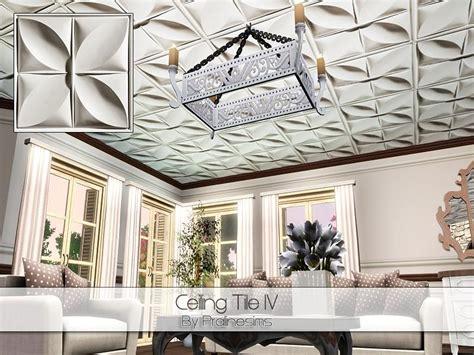 Iv Ceilings by Pralinesims Ceiling Tile Iv