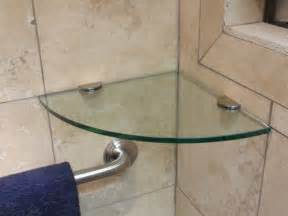 bathroom glass corner shelves shower glass shower shelves style the homy design
