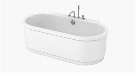 Hoesch Bathtub by 3d Hoesch Bathtub Model