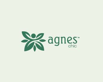 logo agnes agnes chic logo wettbewerb logos by immo0