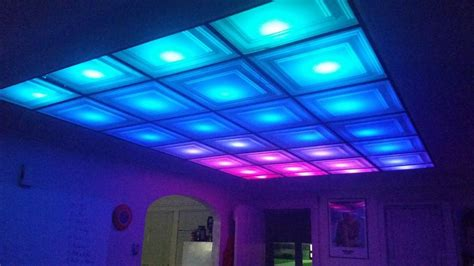 How To Turn Your Room Into A Nightclub With A Diy Led Project Onto Ceiling