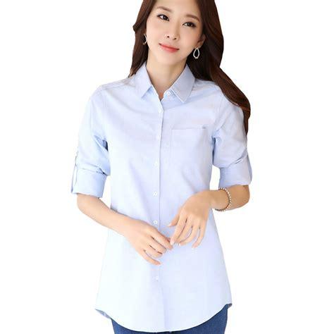 good cotton new spring lady fashion white blouses plus size s 3xl good