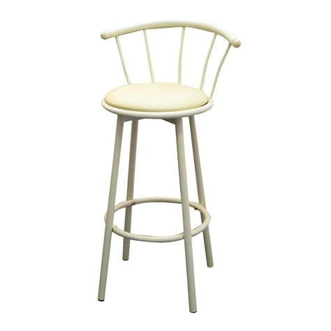 home decorators collection bar stools home decorators collection 29 in ivory swivel cushioned