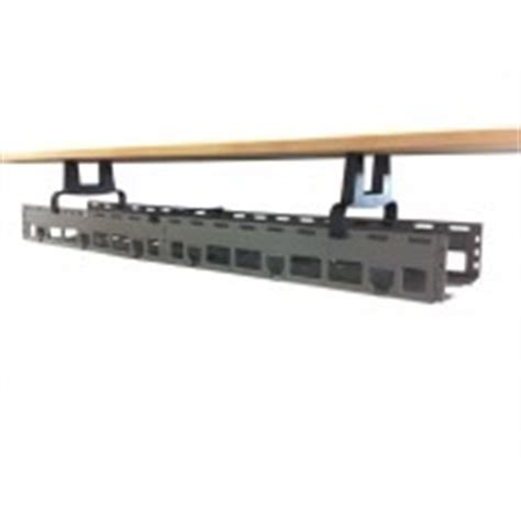 Desk Cable Trunking by Plastic Underdesk Trunking