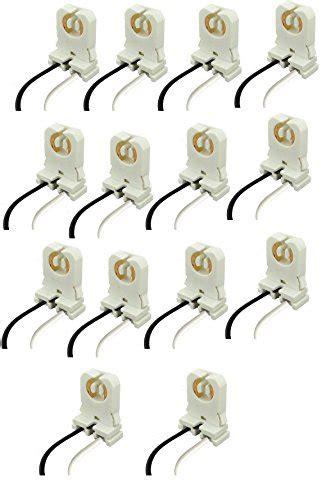 non shunted l holder sleeklighting non shunted led t8 l holder socket