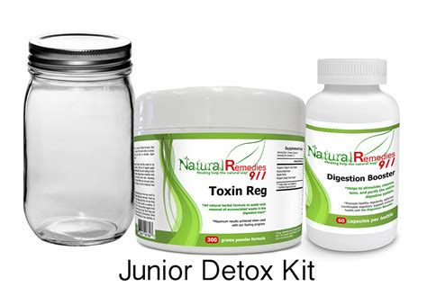 Detox Kit Homeopathic Medication by Remedies 911 Detox Cleansing Kit Detox