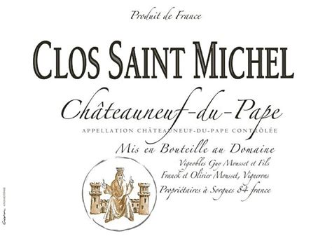 Clos St Michel Chateauneuf Du Pape by Shop Clos St Michel Wine Wine