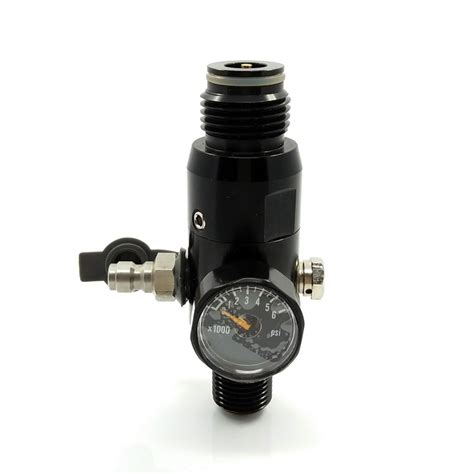 Regulator Paintball Output 1800psi paintball air regulator 4500psi hpa high compressed air tank valve 800 1200 1500 1800 2200psi