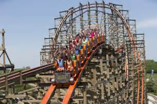 The Roller Coaster Record Breaking Roller Coaster Debuts At Six Flags Great
