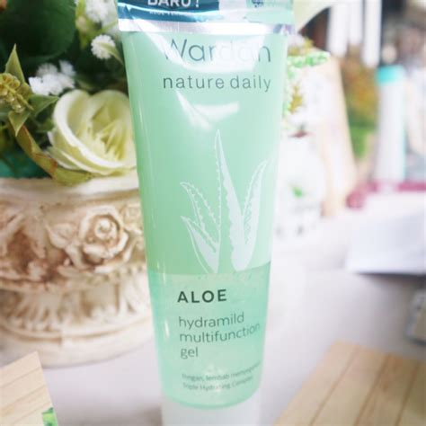 Harga Wardah Nature Daily Aloe Hydramild wardah afternoon tea time gathering tifany s