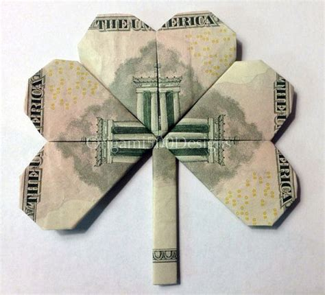 Origami Money Folds - details about beautiful money origami pieces many