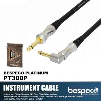 Bespeco Sljf900 Cable To Xlr 9m Cable Microphone instrument cable