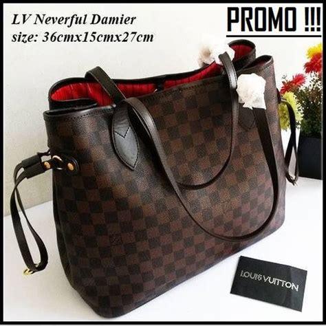 A1032 Tas Import Handbag Import jual tas branded wanita lv neverfull import handbag louis