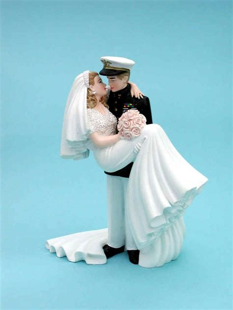 Wedding Cake Exles by Marine Corps Officer Wedding Cake Topper 5000 Simple