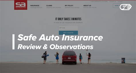 Safe Auto Insurance Company Reviews   Good High Risk Car