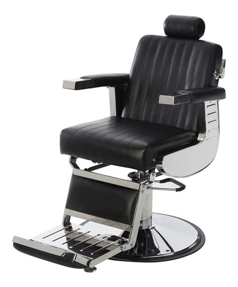 In Barber Chair by Empire Professional Barber Chair