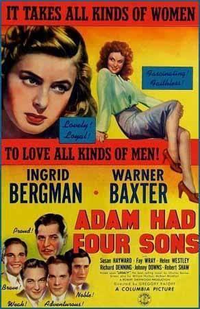 los hijos de adan los cuatro hijos de ad 225 n 1941 filmaffinity