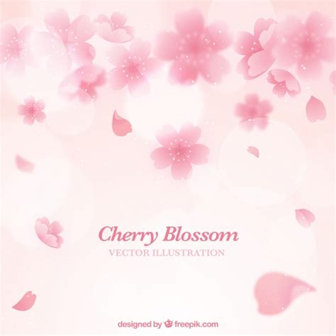 sfondi fiori di ciliegio sfondo rosa fiori di ciliegio scaricare vettori gratis