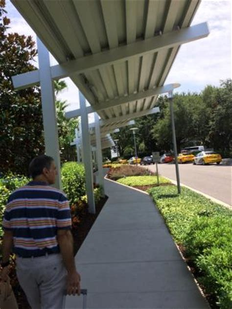 Hyatt Regency Parking Garage by Covered Walkway From The Hotel Parking Garage Picture Of