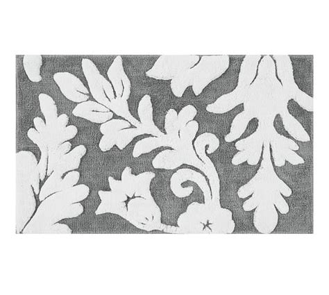 damask bathroom rug damask bath rug rugs ideas