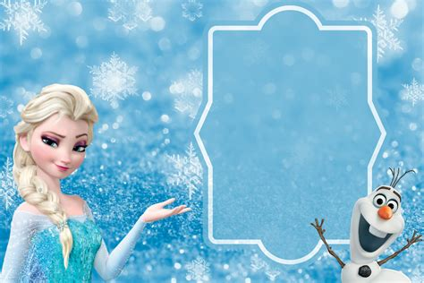 Free Frozen Invitation Card Template by Free Frozen Invitation Template