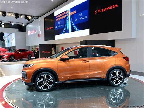 honda xrv honda unveils xr v compact suv at the chengdu motor