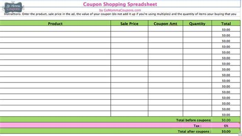 How Will My Money Last Spreadsheet by 51 Best Images About Couponing On Save Money