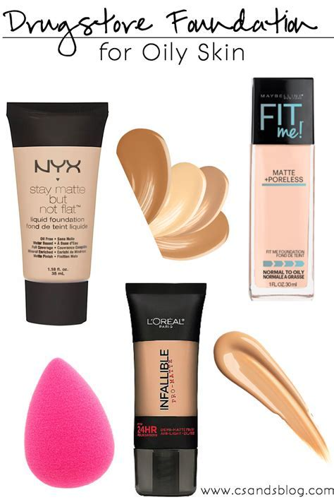 Drugstore Foundations for Oily Skin   Drugstore foundation